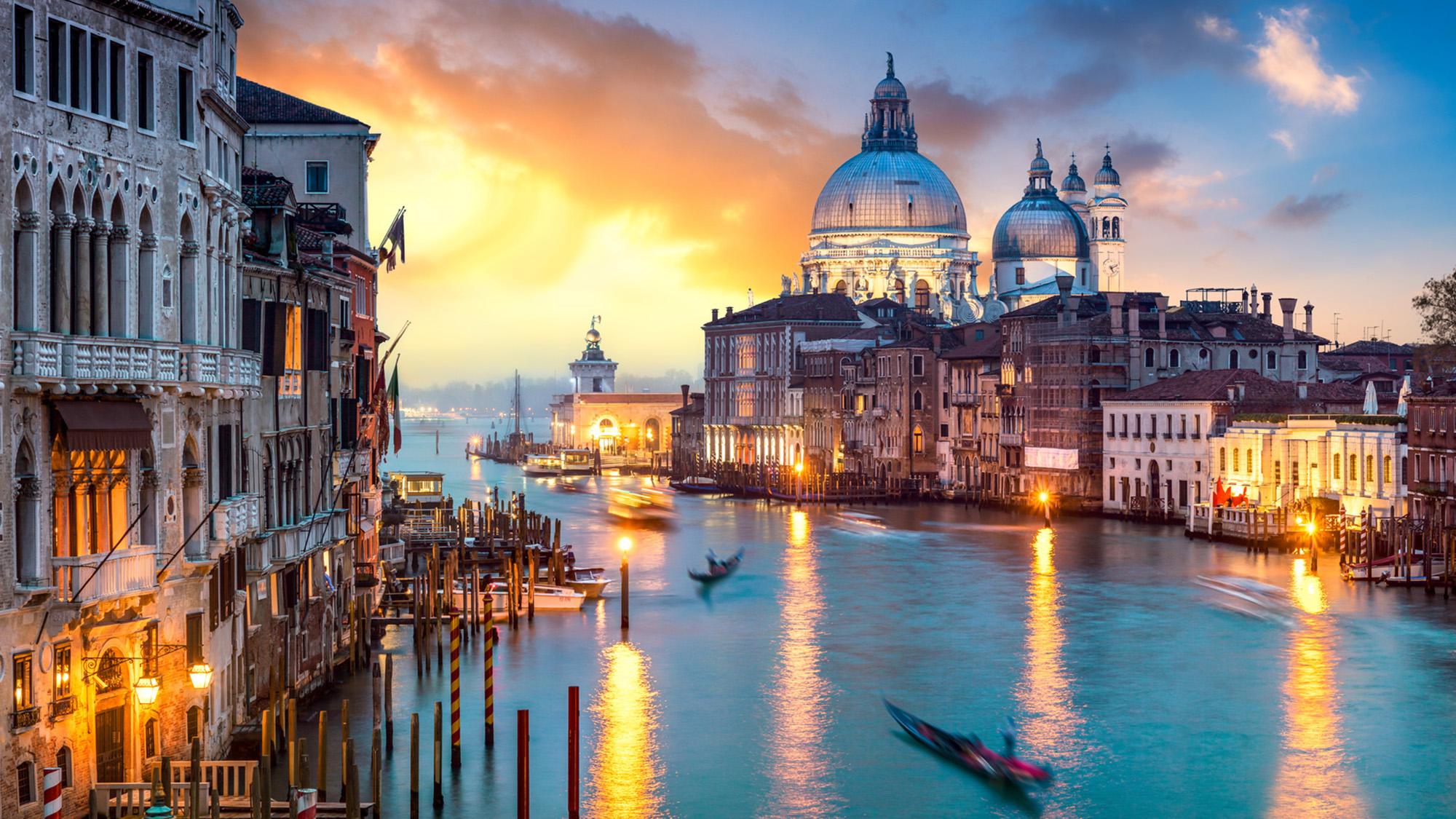 Venedig bei Sonnenuntergang